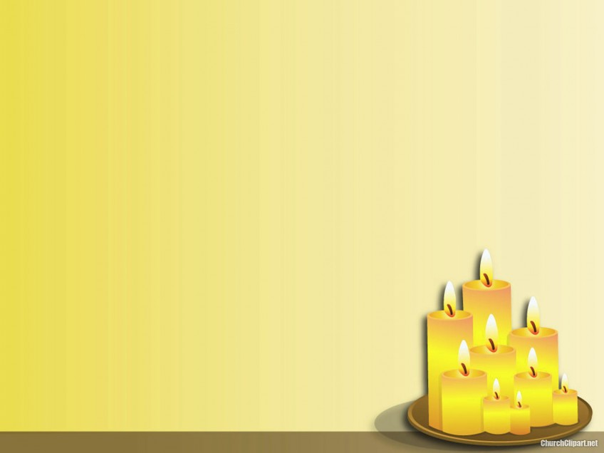 Christmas Candle Light Background
