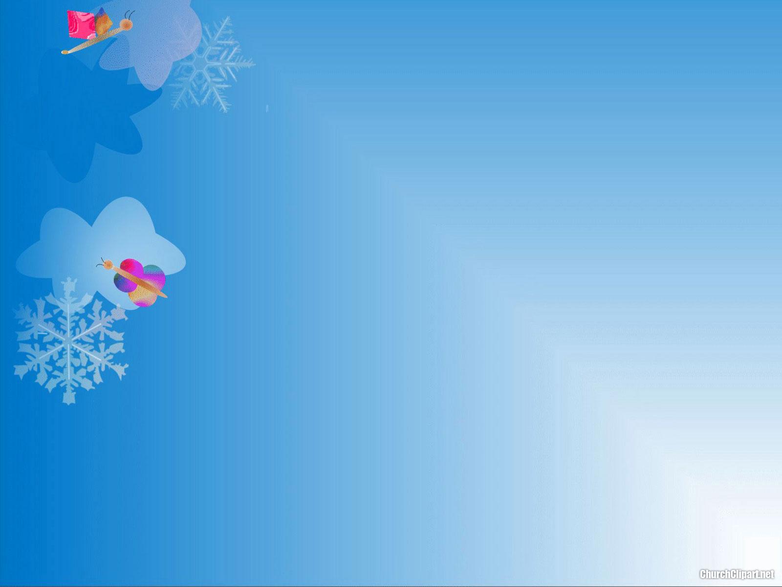 Christmas Snow Modern Background