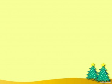 Christmas Tree Background Template