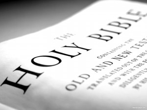 The Holy Bible Background
