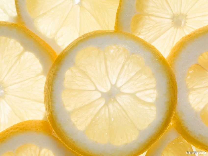 Fresh Lemon Background for Powerpoint