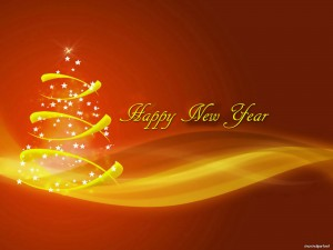 Christmas New Year Background PowerPoint