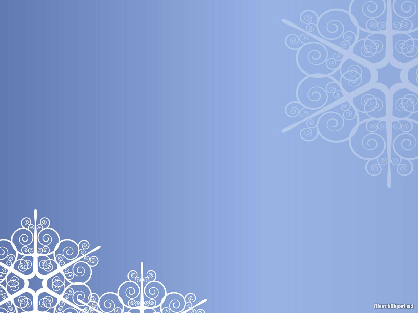 Modern Christmas Snow Background