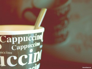 Cappuccino Powerpoint Background